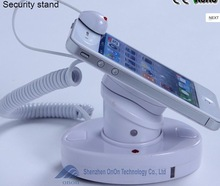 Mobile phone display stand with alarm function
