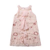 girls dress embroidery summer sleeveless dress kids  dresses girls fashion children clothing