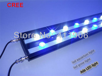 "1.2m hotsale 48"" 3W high powered cree led aquarium light growing coral reef.  Aluminum housing waterproof No Fan No noices"