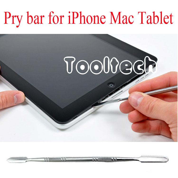 Free shipping high quality 2pcs/lot spudger tools metal crowbar opening tools Pry bar for Mac iPad/iPhone/iPod/Samsung Phone(China (Mainland))