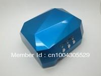 Blue 18W CCFL LED UV Gel Nail Art Lamp Nail Dryer Curing Light  Portable  Home / Salon 100v - 220v Equal as 36w UV lamp