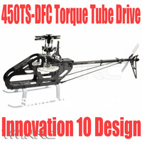 10 New Design Kit VWINRC 450 TS DFC Flybarless Torque Tube For T-REX PRO 2.4G 6CH Rc Helicopter