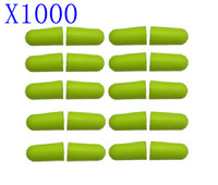 1000PC SOFT FOAM EARPLUG GREEN PROTECTOR EAR PLUGS