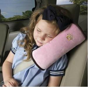 Drop Shipping ! Seat Belt Shoulder Pad Car Shoulder Neck Strap Pillow Car Safety Seat Belt Cushion Harness Comfortable Pad(China (Mainland))