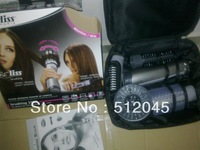 Free Shipping 1pc Hair Styling Brush Comb 4 in 1 Rotating Brush Hair Combo -- Hot sell and  Wholesale