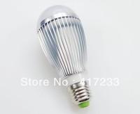 Whole sale 50pcs/lot  7w E27 led bulb ,high quality 12V led lighting