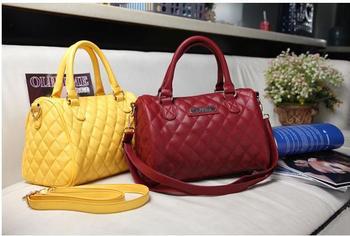 Good quality  handbag Mng plaid For women's Shoulder/Messenger handbag mango black plaid bucket handbag dimond/brand bag