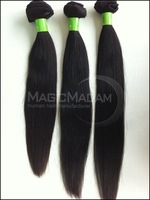 GradeAAAAAAAA Mixed length 3pcs/lot Brazilian virgin hair,silky straight  cheap price fine quality, blackcolor ,DHLfree shipping