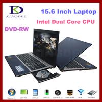 "Kingdel 15.6"" Notebook Computer, Laptop with Intel Dual Core 1.86Ghz, 4GB RAM, 500GB HDD, DVD-RW, Bluetooth, 1080P HDMI"
