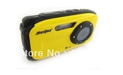 B168 2.7 inch LCD Screen HD waterproof digital camera 10m underwater 12 mega 8x zoom(China (Mainland))
