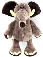 35CM,1PC,NICI Jungle Brothers Soft Plush Toy Elephant For Promotion Gifts,Drop Free Shipping