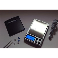 Retail 500g x 0.01g Digital Pocket Scale Jewelry Weight Balance Scale g/ oz/ ct/ gn