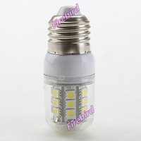 6 x E27 5W high power led corn bulb with transparent cover, 30SMD bathroom lamps, AC220V or AC110V working