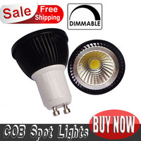 Newest 20pcs 5W GU10 High Power COB LED Spot SMD Warm/ Pure White Light Led Bulb Lamp 85V-265V Dimmable