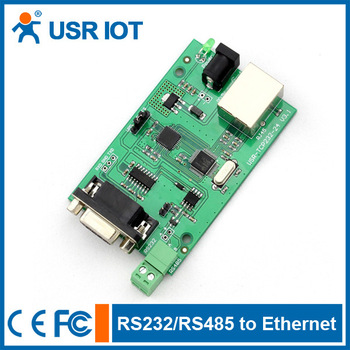 Free shipping RS232 RS485 serial to TCP/IP ethernet module - 6 years experience