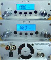 ST-15B 86-108MHz PLL stereo Fm transmitter broadcast RCA input