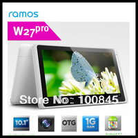 Ramos W27pro 10inch Tablet PC Quad core 1024x600 Android 4.1 Jelly Bean 16GB