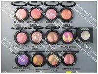 free shipping!new makeup 12 colors makeup mineralize blush 3.5g (6pcs/lot)