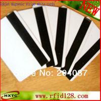 200PCS/Lot Printable Blank/White Hi-Co (2700 3000 4000 OE) Magnetic Stripe/ MagStripe PVC Card  For Epson /Canon Inkjet Printer