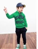 2013 new cute boys girls clothes kids clothes sets baby   boys clothes sets Leisure sport sets RS03