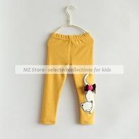 1pcs Clearance!Baby Girls Leggings,Girls Pants, Children Leggings, Kids Pants Animal Kitty Model, Kids Wear in Autumn Spring