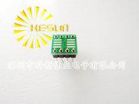 FREE SHIPPING 80PCS/LOT SO8 MSOP8 SOIC8 TSSOP8 SOP8 turn DIP8  IC adapter Socket  Adapter plate PCB  PB-FREE without Pin Header