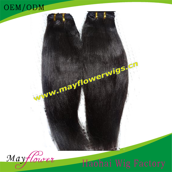 Malaysian virgin hair extensions 3or 4bundles a lot soft and smooth Yaki straight Free shipping chinese manufacturers online(China (Mainland))