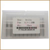 10pcs 0.30-1.20MM PCB Drill Bits ,  Drill set , Mini Drill Bit Set , Free Shipping