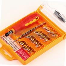 1pcs32 in 1 set Micro Pocket Precision Screw Driver Kit Screwdriver cell phone tool repair box