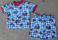 Free shipping! Target boy boys' Thomas the Tank short sleeve top + shorts pyjamas set sleepwear pajamas Pjs