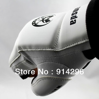 Free shipping White motorcycle bicycle Half Finger Kick boxing Gloves For Taekwondo, Sanda, Kongfu,MMA size:S\M\L