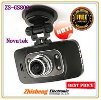 FULL HD 1080P Car Camera Recorder GS8000 With Night Vision G-Sensor H.264 Video Codec HDMI 4 Digital Zoom Free Shipping