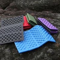 Outdoor camping Moistureproof cushion portable folding cushion XPE mat Honeycomb Massage Foam cushion