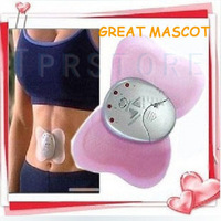 Hot selling Free Shipping ! Electronica Mini Slimming Butterfly Body Muscle Massager  P1 10 Pcs/Lot
