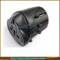 Free shipping New universal travel adaptor for EU US UK Austrulia plug SE-MT001