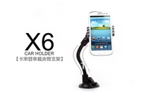 100% Original Kalaideng X6 Car Holder for mobile Phone , universal Car holder , 360 Rotatory +retail box free shipping MOQ:1PCS