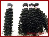 7a Unprocessed  3 pcs Lot  Peruvian deep wave Virgin Hair Extension  Human Hair Weaves DHL Free Shipping