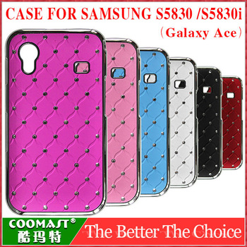 Free shipping 1pcs crystal case for S5830 (Galaxy Ace) /S5830i 100% Original hard moblie phone case for samsung mobile phone