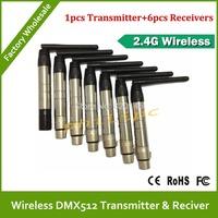 DHL/EMS Free Shipping Super WDMX wireless DMX512 system wireless dmx transmitter DJ lighting kit wireless controller