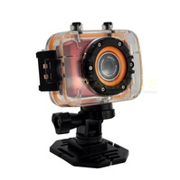Cheapest Waterproof Sport camera Full HD 1080p 2.0 inch Touch LCD 12M MegaPixel HDMI Port Portable DV Free shipping