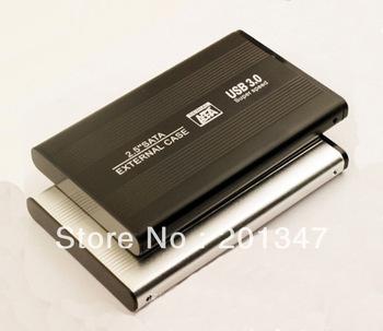 "USB 3.0 / USB 2.0 2.5"" SATA HDD Hard Drive Windows External HDD Enclosure Case"