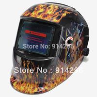 Free shipping Flame  woman Solar Auto Darkening Welding Helmet Mask for ARC TIG MAG TAG