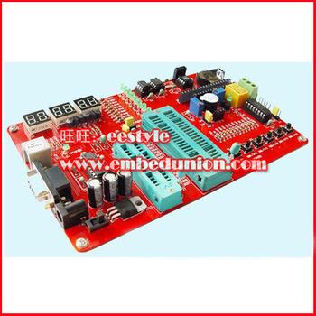 Pic microcontroller development board pic development board pic learning board pic16f877a experimental board MINGZO