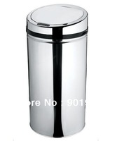 30litre  home office bar hotel club stainless steel  Infrared  sensor  auto sensor touchless trash can