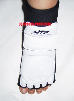 Профессиональный WTF ткд ног гвардии, кожа ( PU ) тхэквондо ног протектор, до турнир класса, 6 размера для выбора