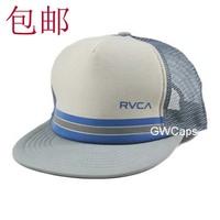 Mix order retail - Rvca male women's hat summer trend of the hiphop cap flat brim mesh cap baseball cap hat free shipping