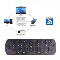 Free shipping 2014 NEW Measy Mini Fly Air Mouse RC11 2.4GHz wireless Keyboard for google android Mini PC TV Palyer box