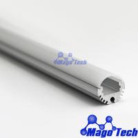 DHL/FEDEX /EMS Free shipping-  anodized aluminum led wardrobe profile, led cloth rod profile and led reading light profile