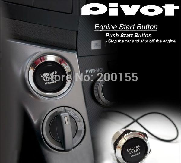 PIVOT ENGINE STARTER SWITCH BLUE RED TK YY01 1PC