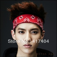 Free Shipping Male and female hip-hop bandanas head scarf 016